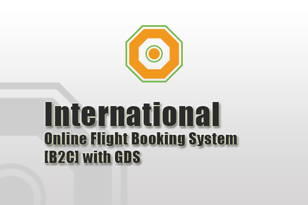 International Online Flight Booking System - (B2C) with GDS
